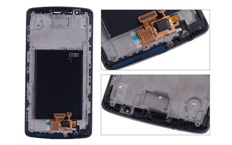5.5 Original Display for LG G3 LCD Touch Screen with Frame for LG G3 D850 D851 D855 LCD Display Replacement Black Whtie Gold (3)