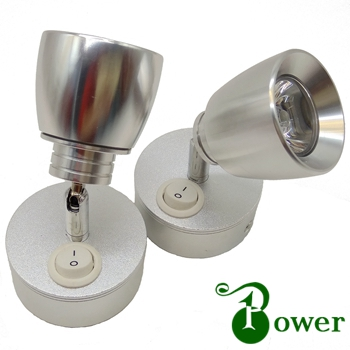 3W 24V BOAT WALL BEDSIDE LED CHART LAMP