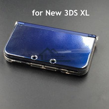 E house clair étui de protection solide coque de protection pour Nintendo New 3DS XL Transparent housse de protection pour New 3DS LL