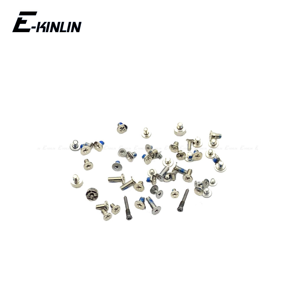 Full Screws Set With Rear Bottom Pentalobe Screw For IPhone X XR XS Max Replacement Parts