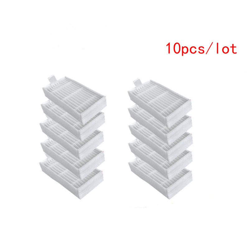 10pcs HEPA Filter For Vacuum Cleaner CHUWI Ilife V5s Ilife V5 Pro V1 V3 V3+ V5pro X5 ECOVACS CR130 CEN540 Vacuum Cleaner Parts