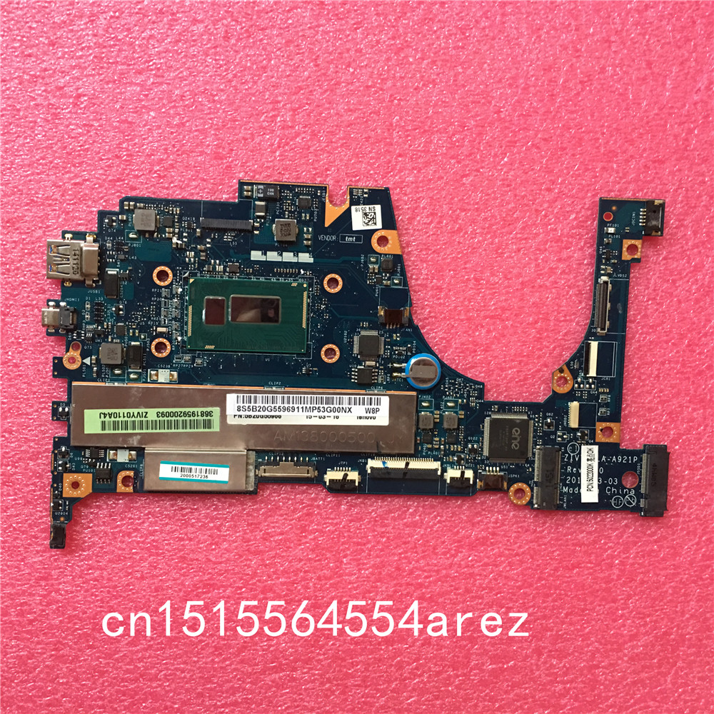NEW And Original Laptop Lenovo YOGA2-13 Yoga 2 13 Motherboard Mainboard With I3-4030U Cpu 4G Memory LA-A921P 5B20G55969