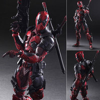 The Avengers Play Arts X Deadpool X Men Series of Action Figures Model