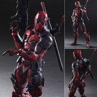 The Avengers Play Arts X Deadpool X Men Series of Action Figures Model