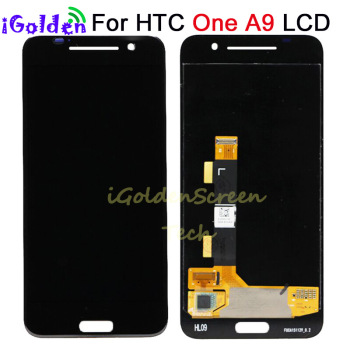 New Tested For 5.0″ HTC One A9 LCD Display Touch Screen Digitizer Assembly Replacement For 1920*1080 HTC A9W A9T A9D A9U LCD