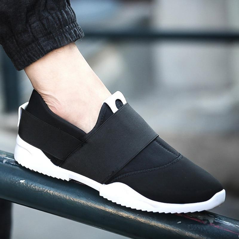 UPUPER Light Sneakers Men Shoes 2019 Breathable Mesh Slip-on Low Runnig Shoes Man Trainers Footwear Outdoor Walking Jogging Shoe