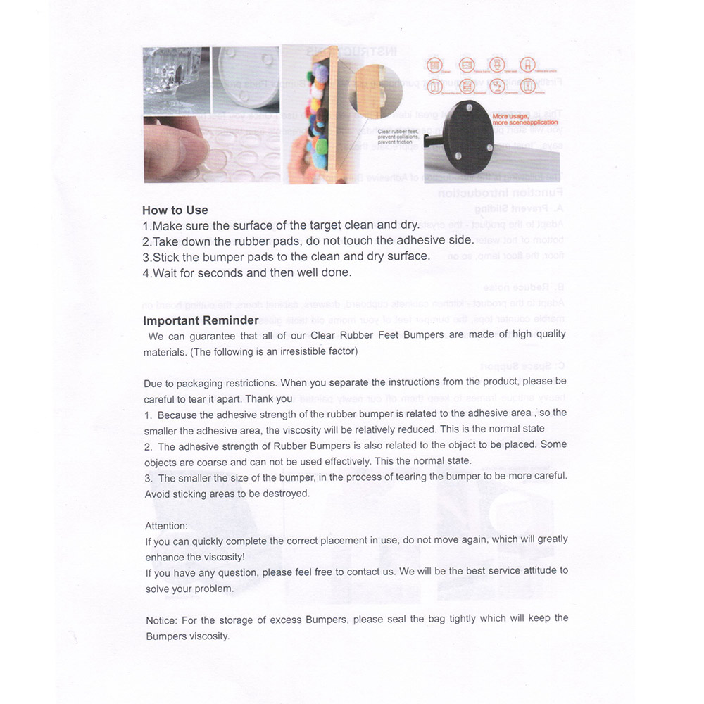 Резиновый Бампер демпфер резиновые ножки колодки стоп Подушка амортизатор цилиндрический 64 шт многофункциональные силиконовые ножки колодки