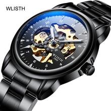 WLISTH  Mens Watches Top Brand Luxury Automatic Mechanical Watch Men Full Steel Business Waterproof Sport Rolex_watch