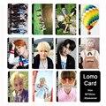 KPOP BTS Bangtan Meninos Youpop JOVEM PARA SEMPRE Álbum LOMO Cartões K-POP de Moda de Nova Auto moldura Feita de Papel Cartão HD Photocard LK400