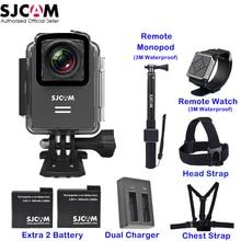 """Оригинальный SJCAM M20 1.5 """"Экран Wi-Fi NTK96660 30 м Водонепроницаемый гироскопа Поддержка удаленного Спорт действий Камера автомобиль mini dvr"""