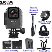 Оригинальный SJCAM M20 Wi-Fi 30 м Водонепроницаемый гироскопа Спорт действий Камера SJ Cam DV часы селфи палка удаленного монопод