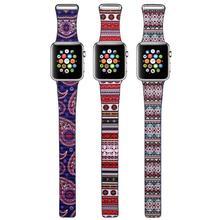 Mode Bohème En Cuir Boucle Bracelet pour iWatch bandes Bracelet Magnétique En Acier Inoxydable Boucle pour Apple Watch 38mm 42mm