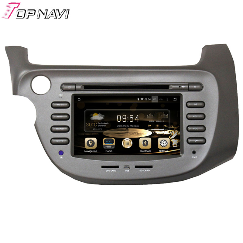 "7"" Quad Core Android 5.1 Car Radio For FIT / JAZZ 2007- For Honda With Radio Video Multimedia Mirror Link Brand New"