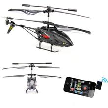 The best gift for Kids Remote Control Rc Helicopter WLtoys S988  Iphone-Controlling with HD camera professional flying camera