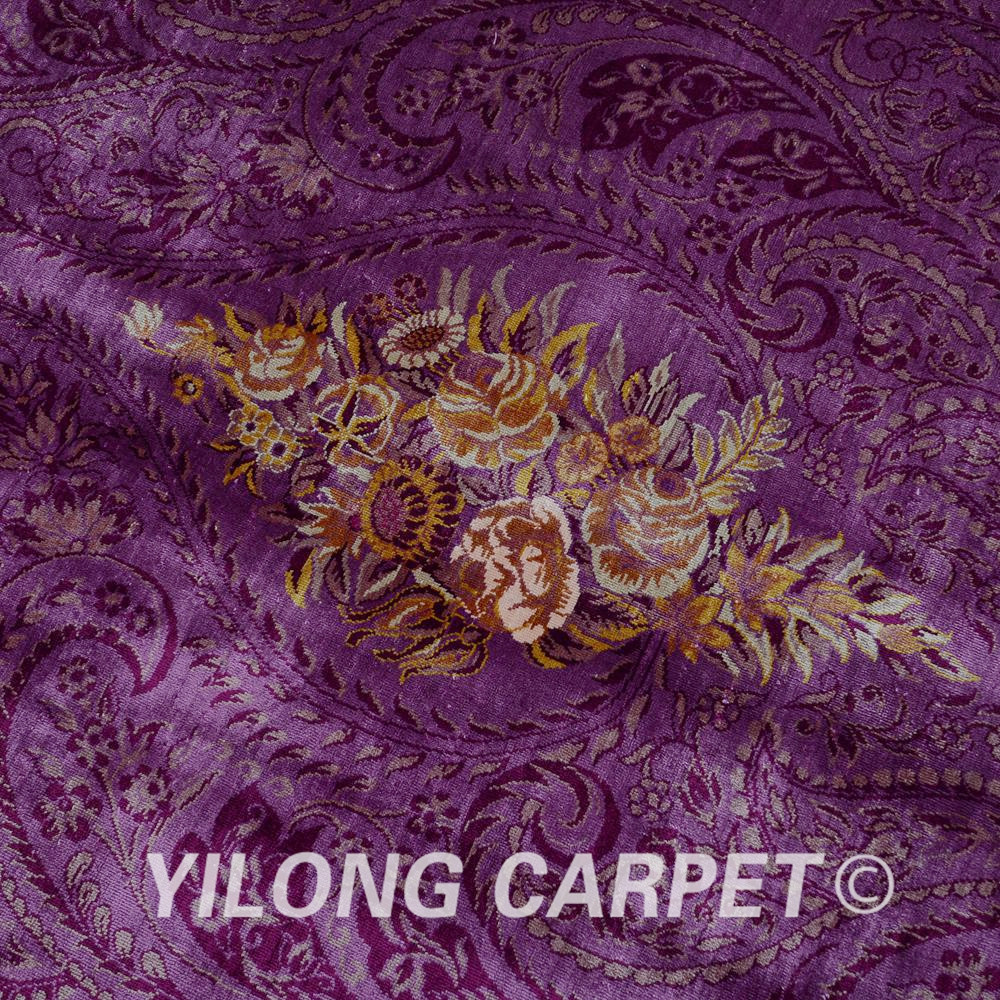 Yilong 6.56'x9.84 'Hereke alfombra galería morada vantage alfombra - Textiles para el hogar - foto 5