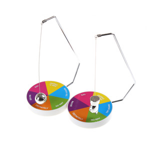 Magnetic Swinging Pendulum Game Fate Fun Desk Accessories Toys Decision Maker Pendulum Dynamic Desk Toy Gift Decoration(China)