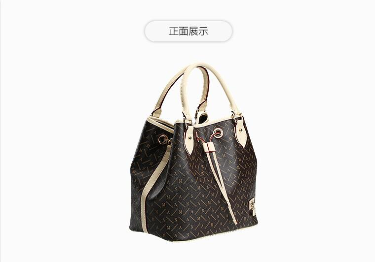 Free shipping Classic Women Shopping Bag Noe  Fashion Brand Monogram Canvas Handbags Shoulder real leather Bagsa free shipping classic women palm springs backpack bag fashion brand canvas real leather bagsa