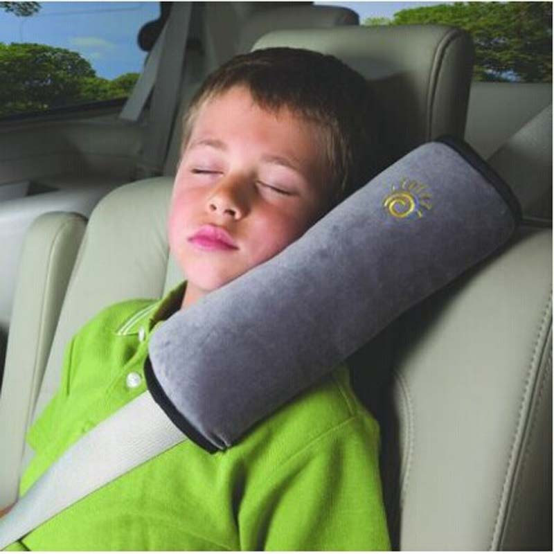 1pc child car seat belt pillow shoulder support ultra-fine cashmere belt care cover pad outdoor travel home essential supplies