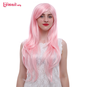 Image 4 - L email wig New Arrival Women Wigs 6 Colors 80cm Long Straight Heat Resistant Synthetic Hair Perucas Cosplay Wig
