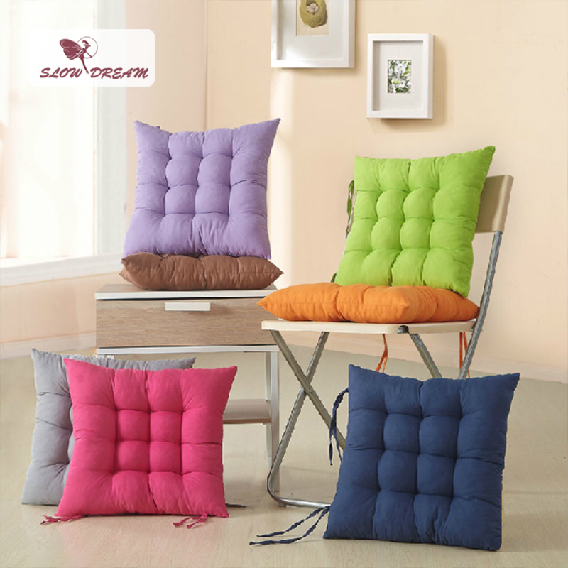 Slow Dream Seat Back Cushion Keep Worm Home Decorative Nordic Abrasive Material Chairs Sofa Adult Child Home Decor Seat Cushion(China)