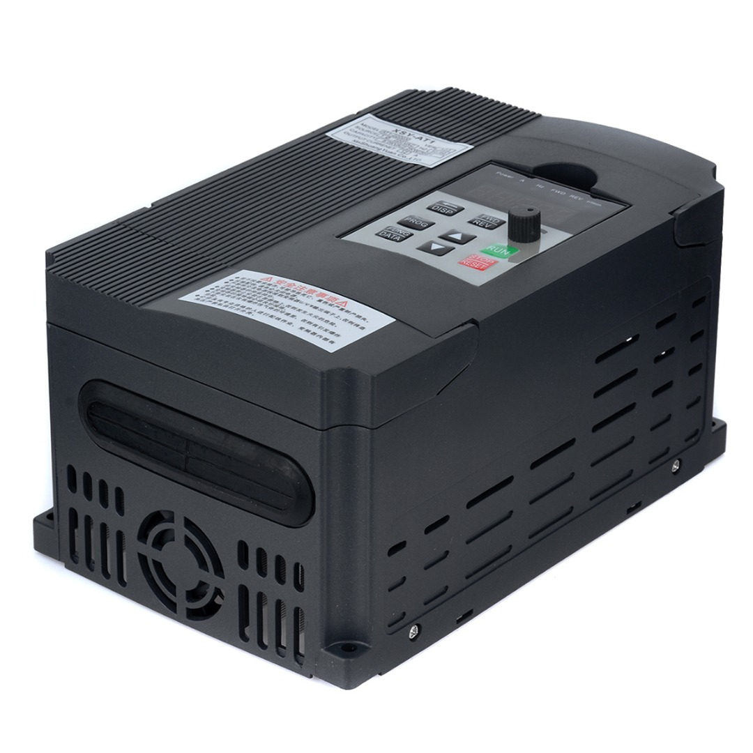 AC 220V Single Phase Variable Inverter 2.2KW 3HP Variable Frequency Inverter Drive Inverter VSD VFD for Motor Speed Controller цена