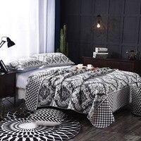 European Syle Flower Printing Color Quilt Blanket Cotton Decorative Soft Plane Sofa Beds Travel Towel Home Textile 1 PC