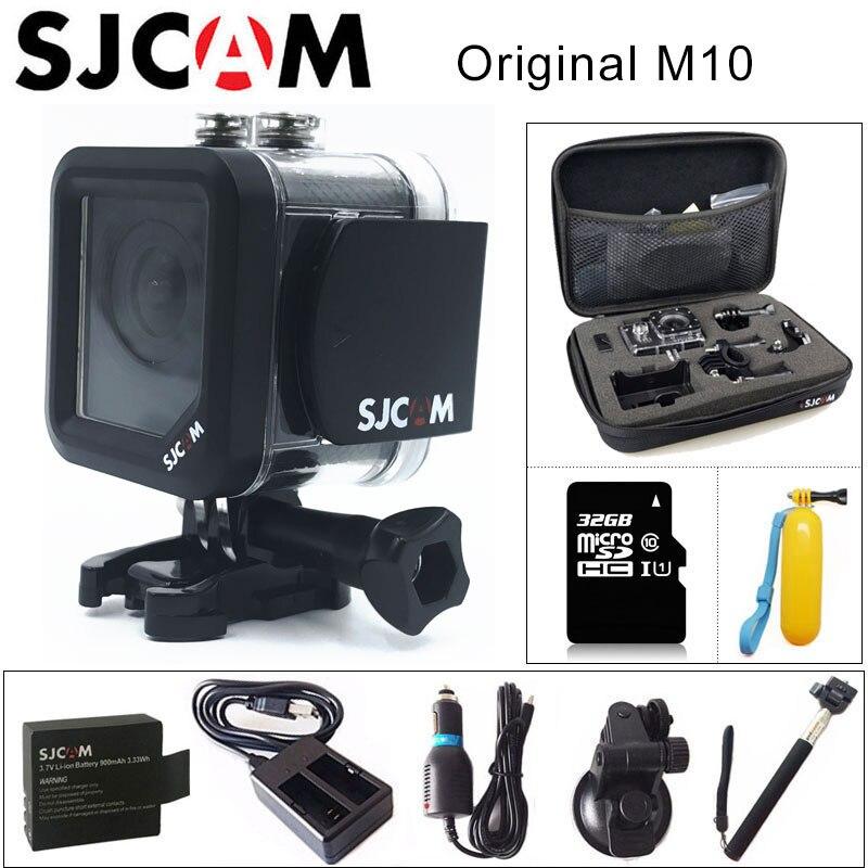 M10 Original SJCAM Sports Action Camera Full HD 1080 p 170 graus Mini Mergulho 30 m À Prova D' Água Câmera Filmadora mini m10 Esporte DV
