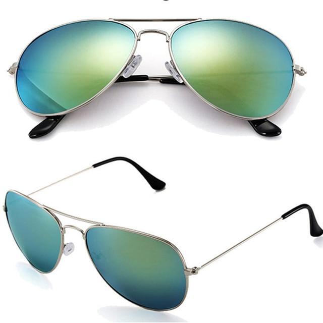 Vintage Sunglasses Men Women Mirrored Masculine Feminine Sun Glasses Male Female UV40 Original Glasses