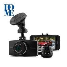 Nueva G5WA A7LA70 Dual de Doble Lente Del Coche DVR de Ambarella Full HD 1080 P 30fps H.264 g-sensor Grabador de Vídeo Dash Cam ADAS GPS Opcional