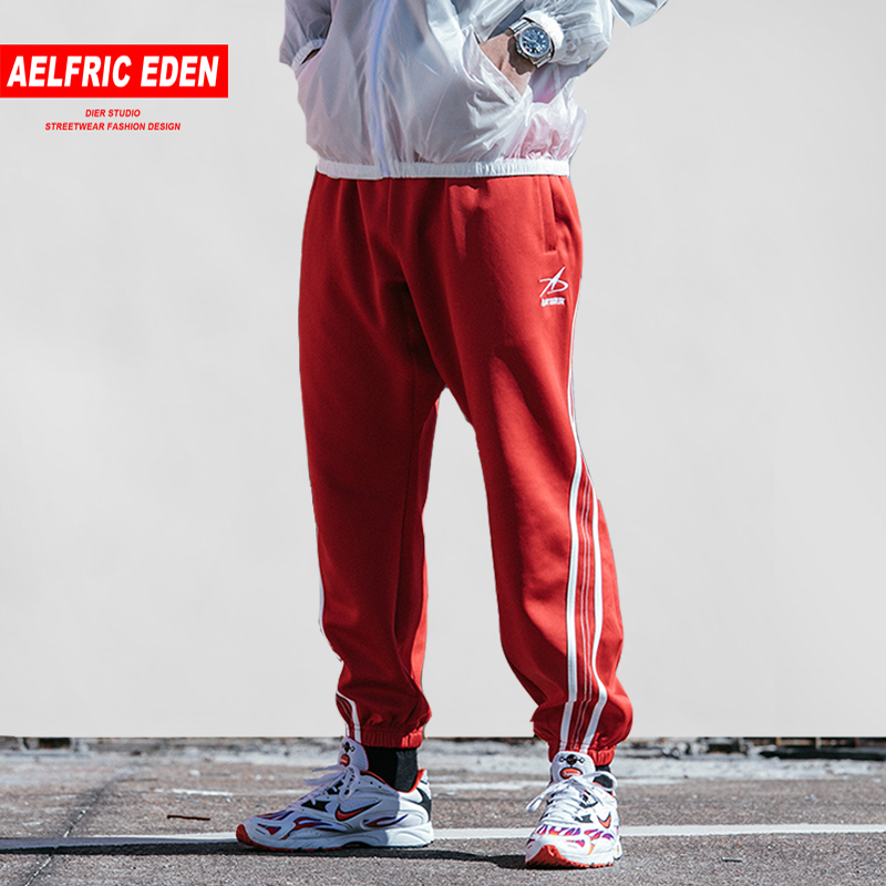 Aelfric Eden Casual Sweatpants Men 2019 Spring Side Striped New Design Streetwear Urban Joggers Harajuku Pants Hip Hop Trousers Grade Products According To Quality