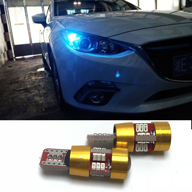2pcs T10 W5W Canbus No Error 27 SMD 5630 <font><b>LED</b></font> Clearance Lights For <font><b>Mazda</b></font> 323 626 cx-5 3 6 8 Atenza <font><b>cx7</b></font> cx-7 mx5 cx3 rx8 cx5 image
