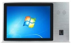Comprobar entrada/salida Android/windows NFC pantalla táctil tablet pc con ID pasaporte lector IC lector de tarjetas código de barras escáner construido en