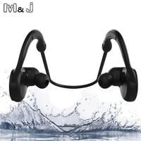 Jiabosi IPX7 Waterproof Wireless Bluetooth Headset Stereo Handsfree Sport Earphone With Microphone For IPhone Samsung Xiaomi