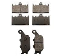 1 The set(2 front + 1 rear)(6PCS)BRAKE PADS Set Case for SUZUKI BRAKE PADS SV1000 /GSF1250 Bandit High Quality