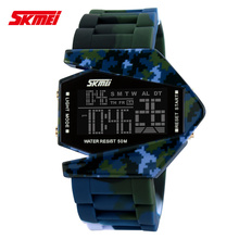 Skmei Brand Quartz Digital Camo Watch Men Sports Watches Men's Military Army Reloj Hombre Camouflage LED Wristwatches 5Colors