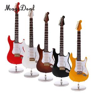 Image 2 - MagiDeal 1/6 Scale Wood Electric Guitar Model for 12 Inch Action Figure Accessory Kids Toys