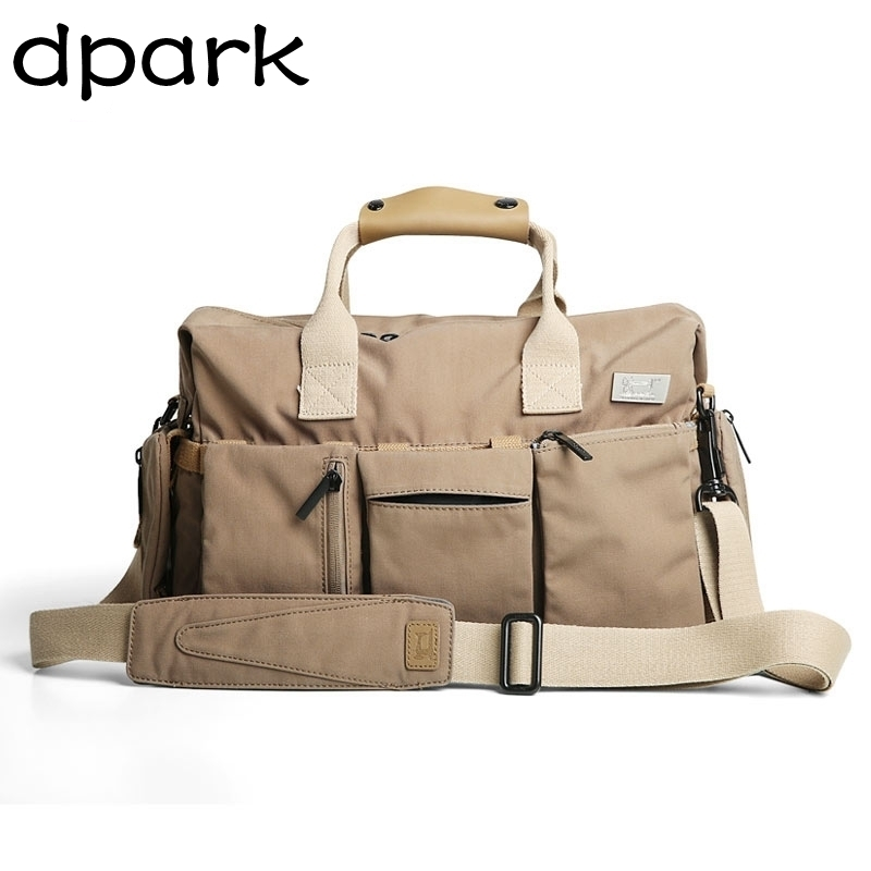 D-park Men's Bags Hand Shoulder Bag Large Capacity Travel Bag Crazy Horse Leather Business Hand Bags Classical Design winter jacket female parkas hooded fur collar long down cotton jacket thicken warm cotton padded women coat plus size 3xl k450