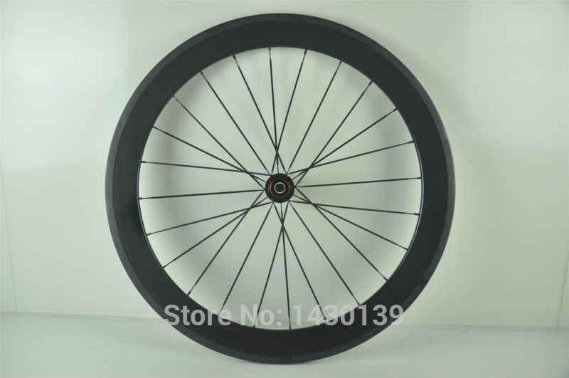 1 pièces nouveau 700C 60mm pneu jante route piste fixe engrenage vélo 3 K UD 12 K plein carbone vélo roues 20.5/23/25mm largeur livraison gratuite