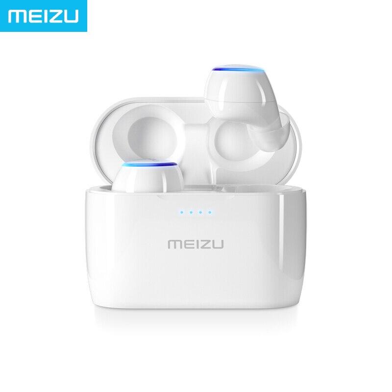 Meizu POP TWS Écouteurs Stéréo Sans Fil Écouteurs TW50 Contrôle Tactile Activer téléphone Assistant Vocal D'origine Sonore Étanche