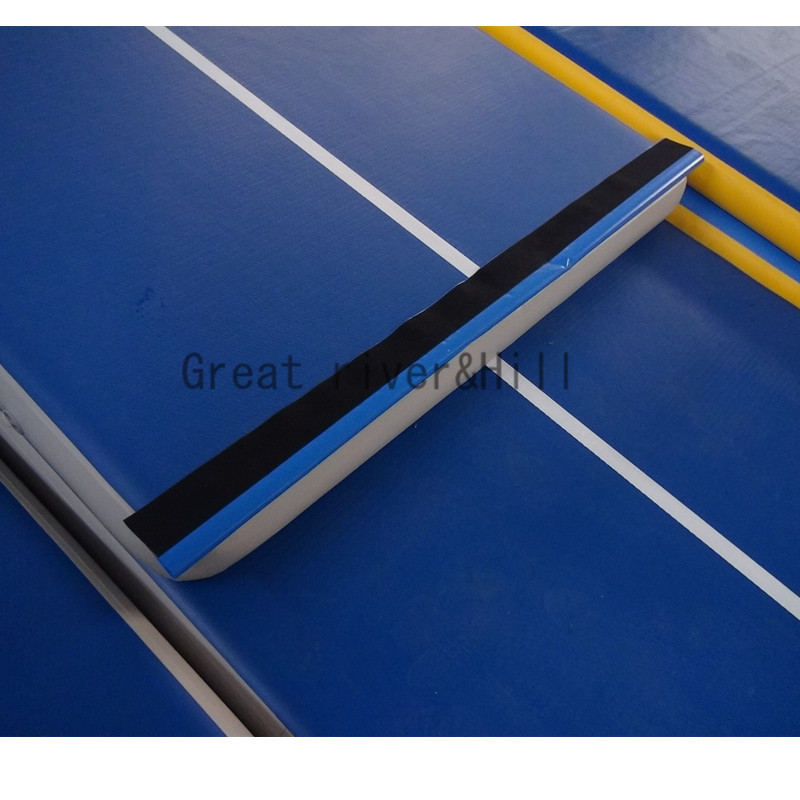2017 popular inflatable air track for gymnastics fitness track mat folding 5m x 2m x 0.2m with fedex shipping