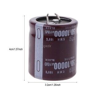 10000 мкФ 50 в 105 градусов электролитический конденсатор оснастки подходят оснастки в горячей оптовой продаже и Прямая поставка