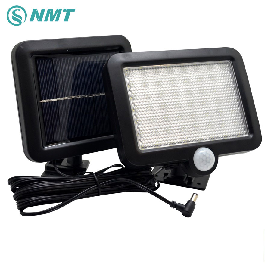 Solar Licht 56 Leds Outdoor LED Solar Powered Körper Motion Sensor Solar Lampe Flutlicht Garten Rasen Licht Dekoration
