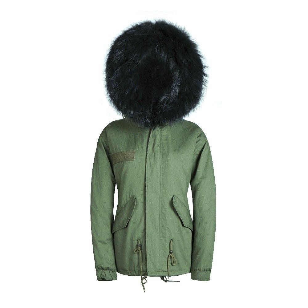 De Réel Haute Manteau Veste Qualité Laveur À Parka Unisexe Avec Capuchon Fourrure Artificielle Raton 0dx0qnzwY