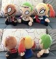 Симпатичные 3 стиль 20 см Suicide Squad Харли Квинн Джокер Deadshot плюшевые Игрушки Аниме плюшевые Куклы игрушки для детей со дня рождения подарок
