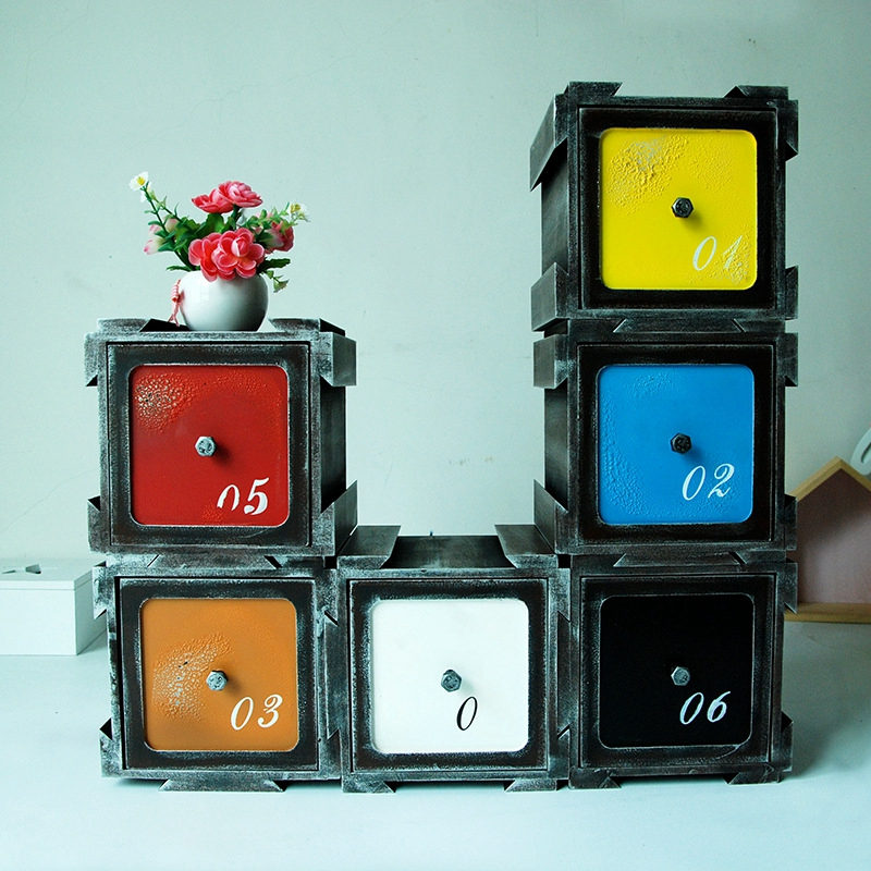 Bois femmes maquillage organisateur tiroir boîtes de rangement assemblé maison bureau articles divers Gadgets porta joias organisateur caixa organisadora
