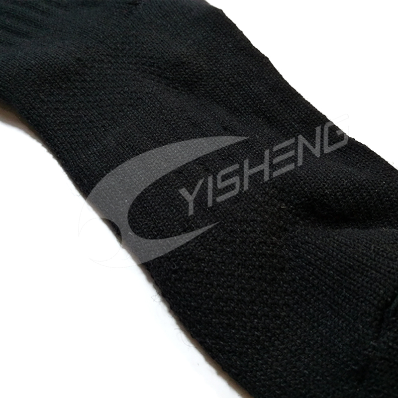 YISHENG Winter Warm Merino Wool Socks Terry Thick Long Sports Skiing Socks Classic Good Quality Ski Socks