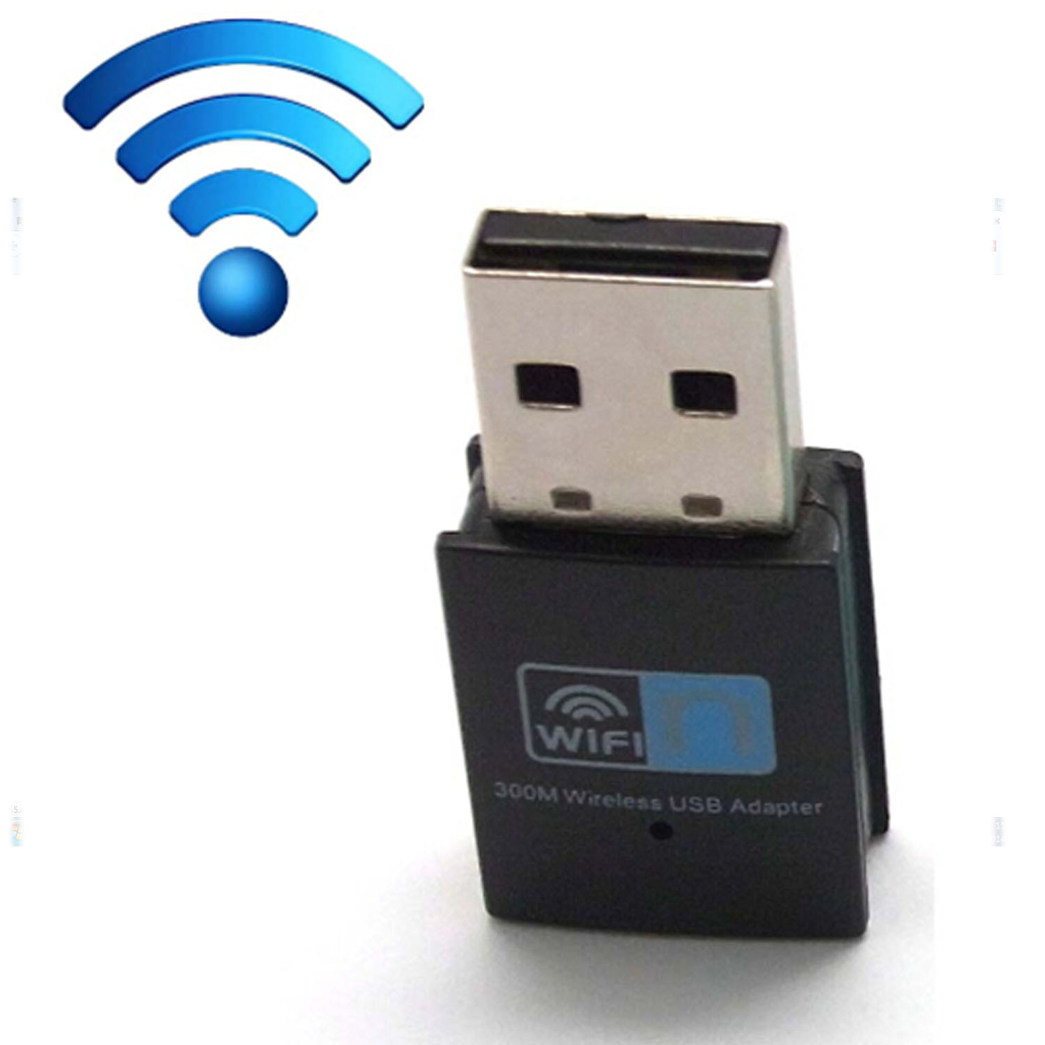 Besegad Mini 300Mbps 2.4GHz Wireless Internet USB 2.0 Router Signal Booster Network Card 802.11 B/g/n Wifi Dongle Lan Receiver