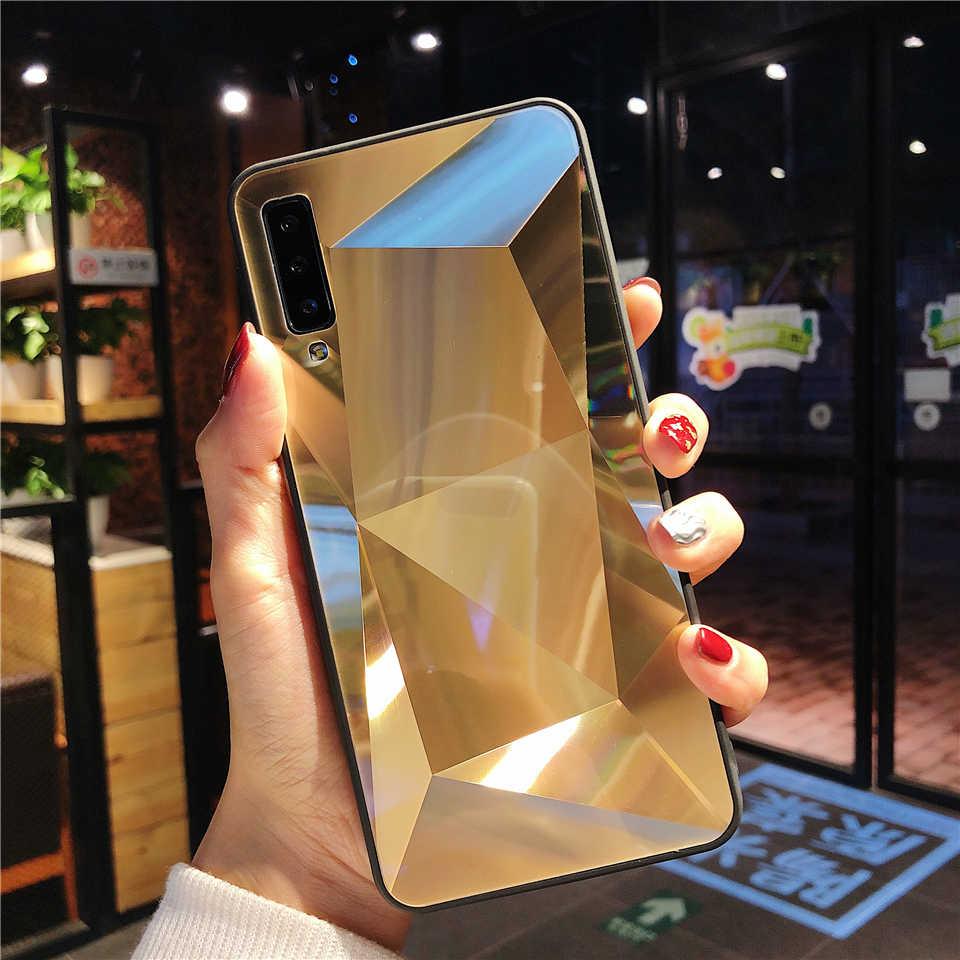 2019 أحدث 3D بلينغ الهاتف غطاء لسامسونج غالاكسي A7 A8 A6 A5 2018 J4 J6 ملاحظة 9 8 S9 s8 زائد حالة الصلب الماس الملمس حالات