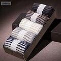 BXMAN (5 Pares/lote) de Alta Qualidade Dos Homens Meias de Lã Meias Sock Dos Homens de Negócios de Moda Mais Grosso Anti-bacteriano Desodorizante