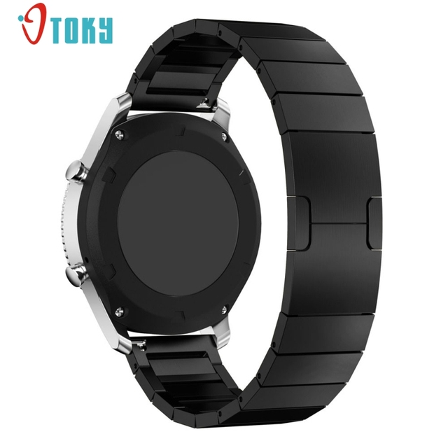Excellent Quality 21mm Stainless Steel Watch Band Strap Metal Clasp For Samsung Gear S3 Classic Metal Watchband Dec-29